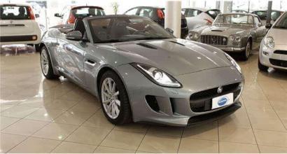 Disponibile nella concessionaria di Torino Jaguar F-Type 3.0 V6 auto Convertibile