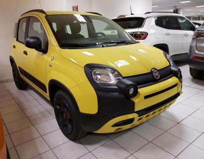 Fiat Panda 1.2 69cv Waze City Cross - Euro 6 - KM0 - Giallo